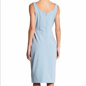 Betsey Johnson Dresses - Scoop Neck Sleeveless Crepe Midi Dress